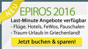 Angebote für Epirus Reisen 2016